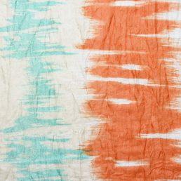 100% zijde sjaal met geprinte streep