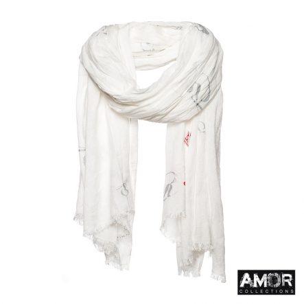 zilveren sjaal