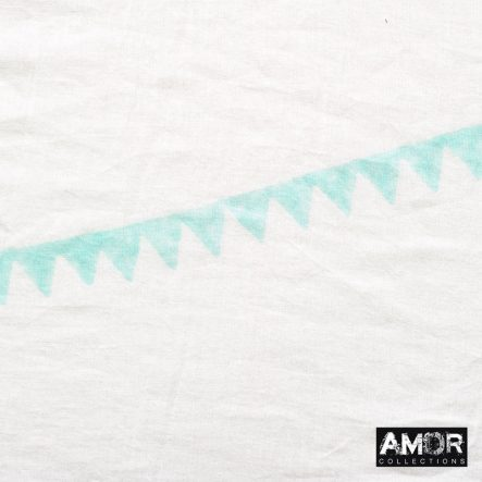 katoenen sjaal mint