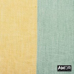 Katoenen sjaal met gekleurde blokken