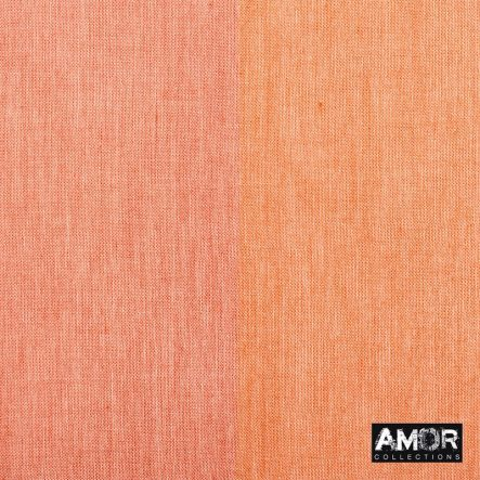katoenen sjaal oranje en rood