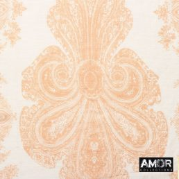 Zijde - katoenen sjaal met bloemen print
