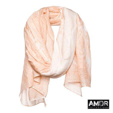 AM643 salmon sjaal