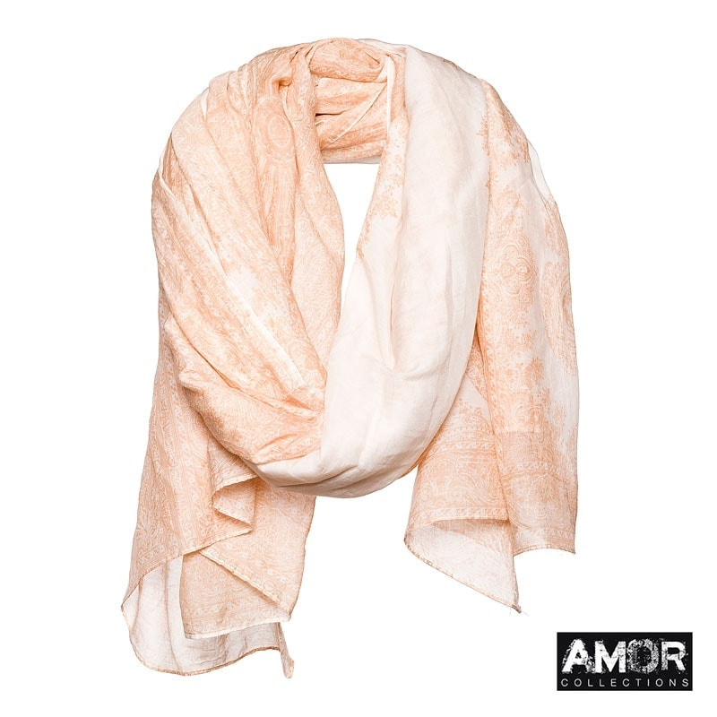 AM 643 - Scarf with print (FASHION MUSTHAVE!)