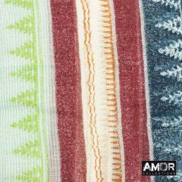 Sjaal met multi print