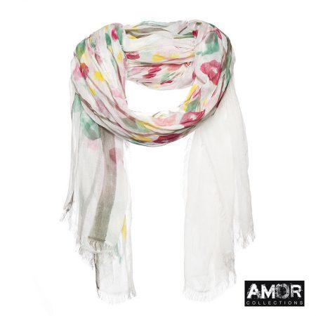 sjaal modaal bloemenprint