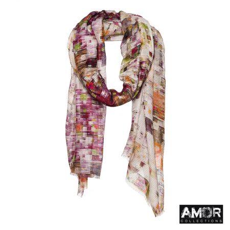 modaal en cashmere sjaal multi print