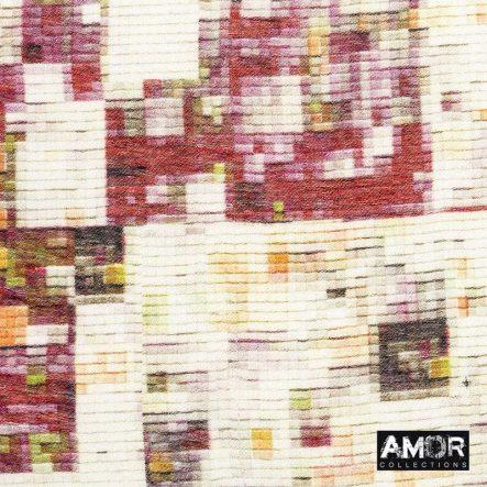 Sjaal met multi pixel print