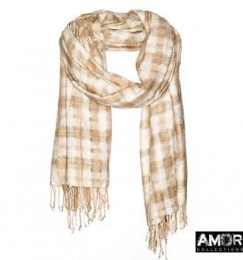 zijde sjaal handgeweven