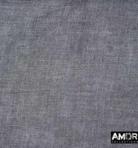 Detail foto van AM752 zwart, wollen sjaal met enzyme washing.