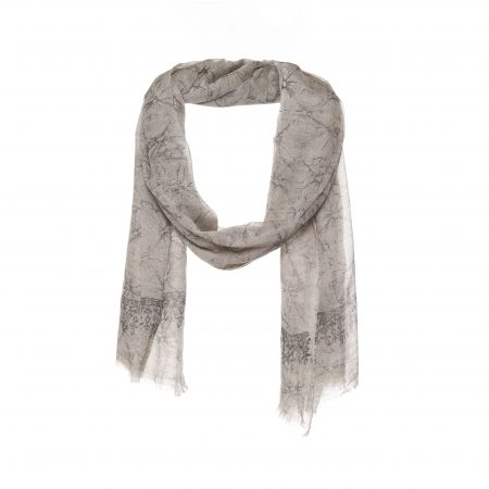 Grey men scarf - AM585