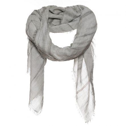 Sjaal met enzyme print met pailletten
