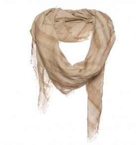 beige bruine sjaal
