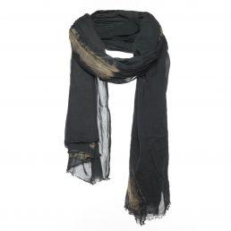 Katoenen sjaal met splash print