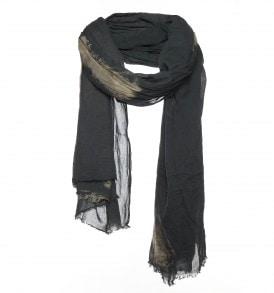 grijze sjaal