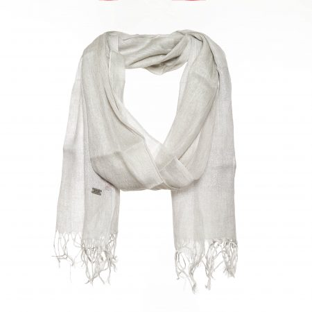Scarf with beautiful lurex print