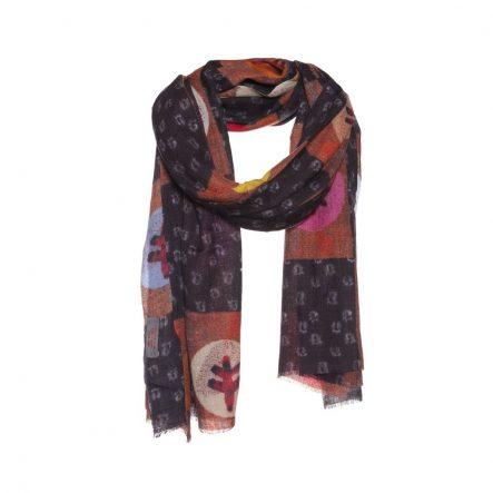 wol bruin sjaal
