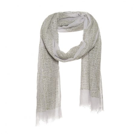 Unisex scarf with letter print - AM 664
