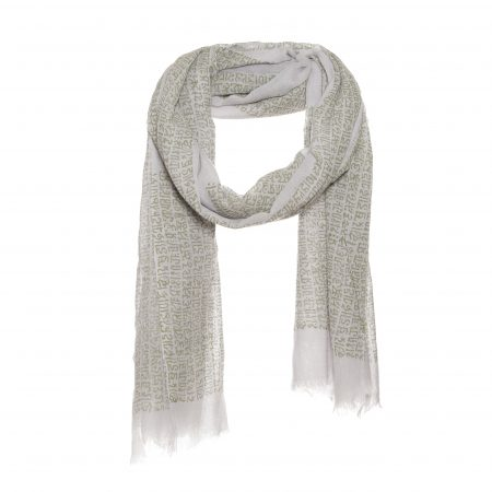Men's scarf with letter print - AM 664