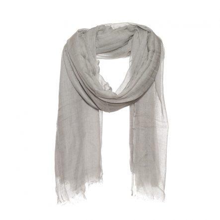 grijze sjaal van zijde modaal