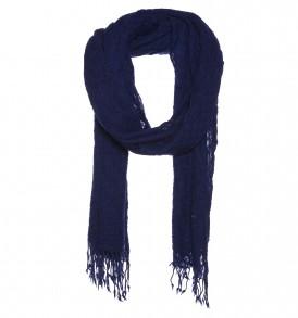 Een warme basket weave van 100% wol. Nu verkrijgbaar in de kleuren blauw en beige.