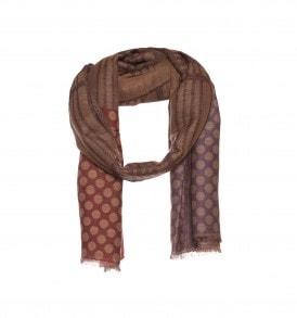Beautiful Brown mens scarf - AM 679