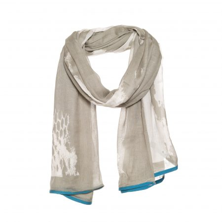Beautiful modal scarf with snake print – AM 878