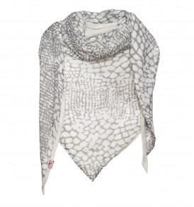 Sjaal met reptiel print - AM 782