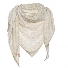 Scarf with reptile print - AM 782
