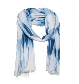 2 kleurige dip dye sjaal