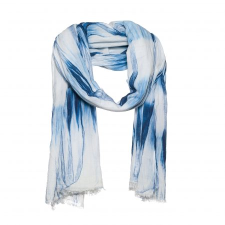 Cotton scarf with tie dye – AM 866