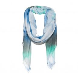 Squared cotton scarf with tie dye – AM 868