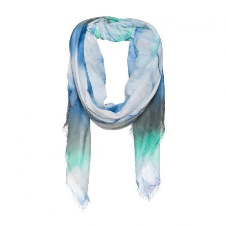 Vierkante dip dye sjaal
