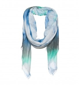 Vierkante dip dye sjaal - AM 868