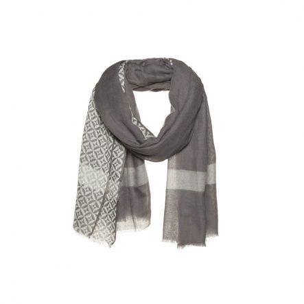 Woolen scarf with stripe - AM 902