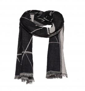 Dubbel geweven sjaal