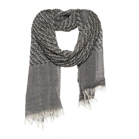 grote favoriet sjaal zwart