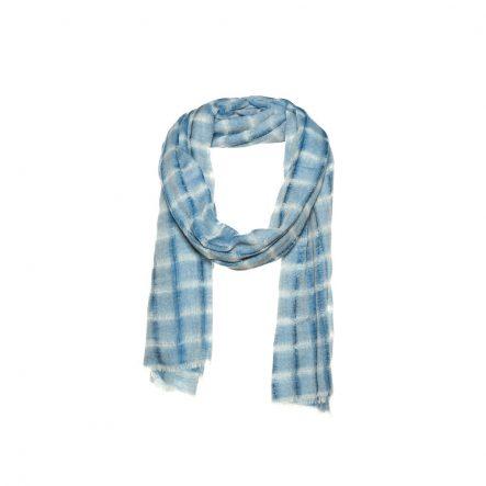 navy wol sjaal