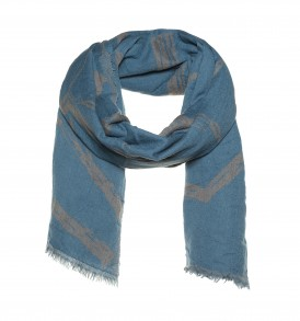 Hexagon dubble woven scarf - AM 915