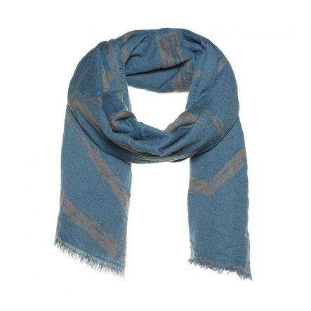 Hexagon dubble woven scarf - AM 915