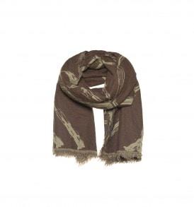 Dubbel geweven sjaal met zeshoek design – AM 915