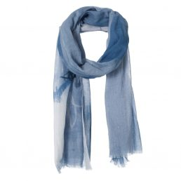 Cotton scarf with print - AM 953
